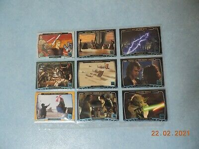 Star Wars 30th Anniversary Topps 9 Blue Foil Stamped Parallel Base Card