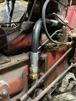 Farmall 560,460 tractor main hydraulic oil line from the pump to the valve stack