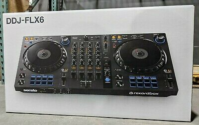 Pioneer DDJ-FLX6 4-Channel DJ Controller for Serato or Rekordbox Software