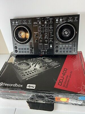Pioneer DDJ-400 2 Channel Rekordbox DJ Controller - Black with Box