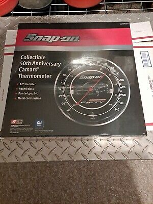Snap-on Collectible 50th Anniversary Camaro Thermometer SSX17P127