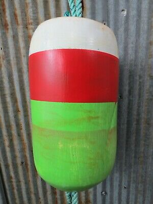 Authentic Large Dungeness Crab Pot Buoy -(CB334)