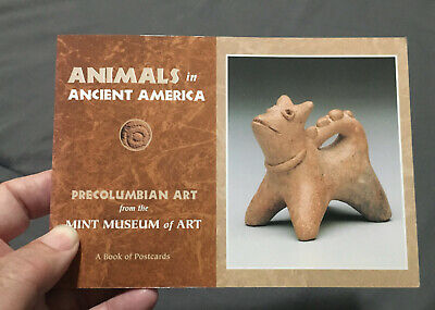 ANIMALS In ANCIENT AMERICA / Postcard Book / Mint Museum / 28 (of 30) / Oversize