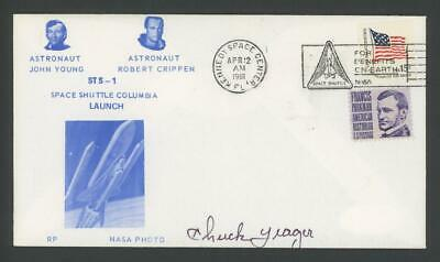 CHUCK YEAGER signed 1981 First Day Cover   JSA certified Autograph