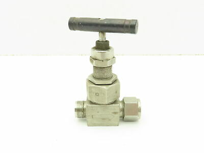 """Swagelok SS-6NBS8-G Stainless Severe Service Needle Valve 1/2"""" Compression Tube"""