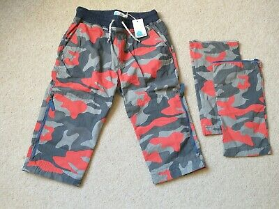 Mini Boden Boys Zip off Techno Trousers / Shorts Age 14 Years New With tags