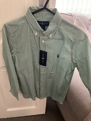 boys ralph lauren polo shirt age 7
