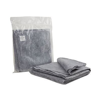 """McKesson Disposable Stretcher Blanket 40"""" X 80"""" Polyester Gray 1 Each 16-10224"""