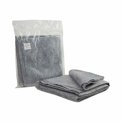 """McKesson Disposable Stretcher Blanket 40"""" X 80"""" Polyester Gray 24 Ct 16-10224"""