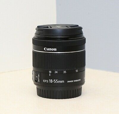 Canon EF-S 18-55mm 1:4-5.6 STM IS  --  EX++