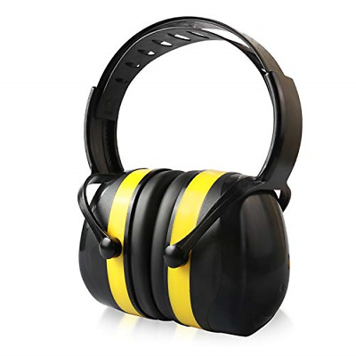Ear Defenders, Noise Reduction Earmuffs with Soft Foam Ear Cups, Foldable Ear