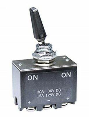 NKK Switches Double Pole Double Throw (DPDT) Toggle Switch, Latching, Panel Moun