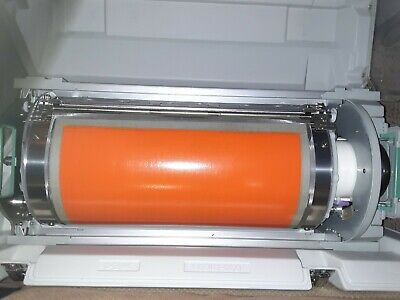 Genuine Riso RP Ledger Color Drum (W) Orange Toner with Carrying Case