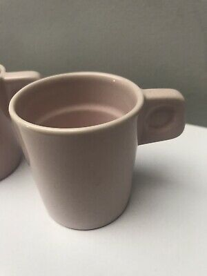 Pink Habitat Expresso Cups,Brand New Never Used.