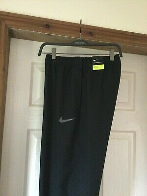 Mens Nike Dri - Fit Black Training Trousers Joggers - Size L New RRP £44.95