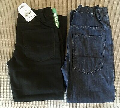 boys black and dark denim jeans from next age 8 years