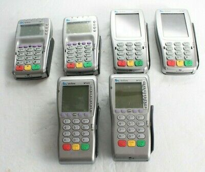 Lot of (6) Verifone VX805, VX820 & VX670 Pin Pad Credit Card Readers UNTESTED