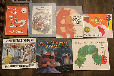 Story Time Assorted Bundle / Lot of 7 Classic Story Books for Kids/Toddlers