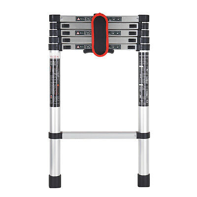 2./ 7.5FT Telescoping Ladder Telescopic Extension Extendable Ladder Step D8Y6
