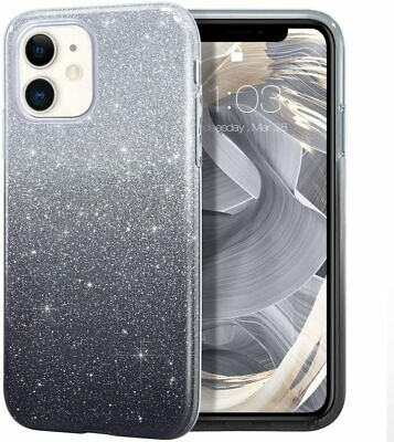 MILPROX iPhone 11 Case, Bling Sparkly Glitter Luxury Shiny Sparker Shell, Protec