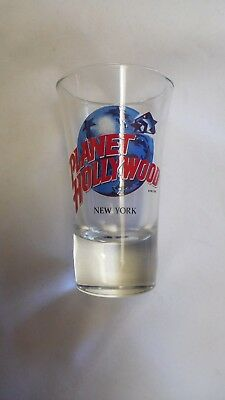 Planet Hollywood shot glass New York unused in bag