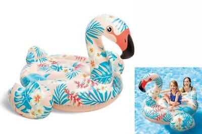 Animale Gonfiabile Poolspielzeug Figura Per Piscina Intex Flamingo 178x134cm