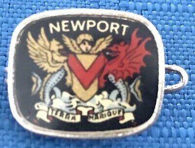 Coats of Arms for Newport Wales Corporation Later design Pin Badge