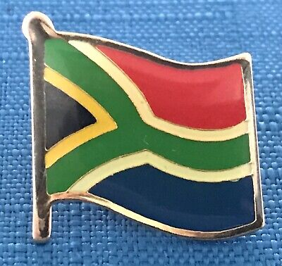 Quality South Africa Flag Enamel Pin Badge Cricket Rugby