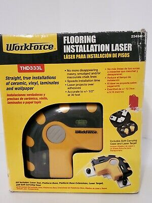 Work Force NEW-OPEN-BOX Flooring Installation Laser THD333L