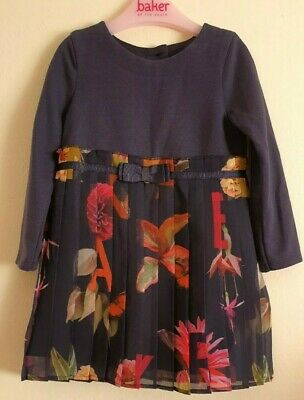 Ted Baker Girl's Dress Age 12-18 months