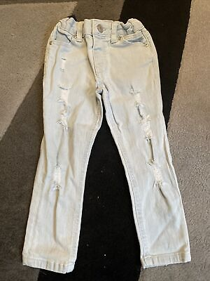 Boys River Island Skinny Ripped Jeans Age 4