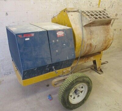 CONCRETE / STONE MIXER 1285-PM, 5 hp, USED - LOCAL PICKUP ONLY