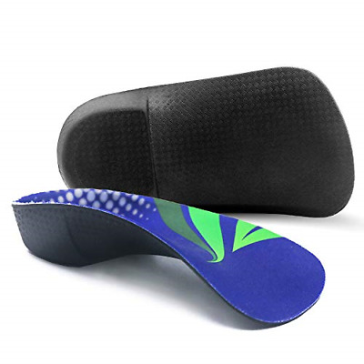 RooRuns Orthotic Insoles, FITFEET 3/4 High Arch Support Shoe Inserts Insoles for