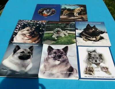 Norwegian Elkhound Annuals for sale I have 1998..2000...2001...2002..2003..2004.