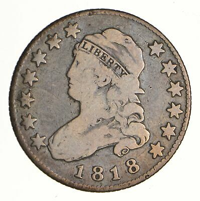 1818 Capped Bust Quarter - Circulated *6988