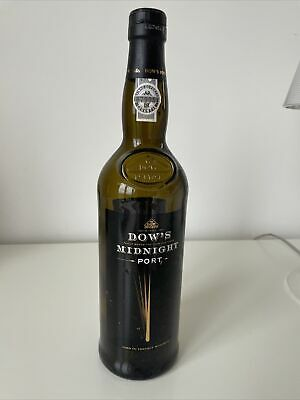 Empty Collectable Port Bottle And Stopper - Dow's Midnight Port