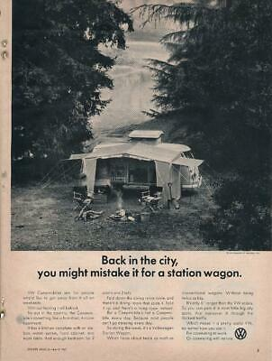 Magazine Ad - 1967 - Volkswagen - Back in the City