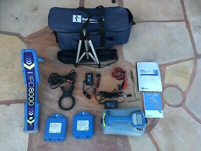 Radiodetection rd8000 Cable & Pipe locator w/ TX-3 Controller includes full kit