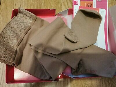 Mediven Forte Medical Compression Stockings Thigh Beige Closed Toe Size 6 CCL2