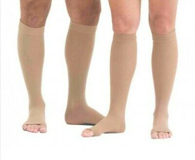 Mediven Forte Compression Stockings Open Toe Calf Knee Lenght Size 4 CCL2