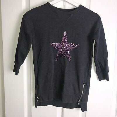 girls NEXT star sweatshirt Age 6 years