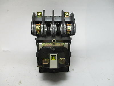 Square D 8501H020 Series D Contact Relay 15A 120V 8501 H0 20