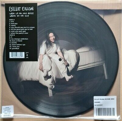 Billie Eilish When We All Fall Asleep, Where Do We Go? Ltd Edition Picture disc