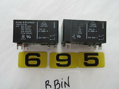 Potter & Brumfield T92S7D12-24 Electromechanical Relay   Lot Of 2