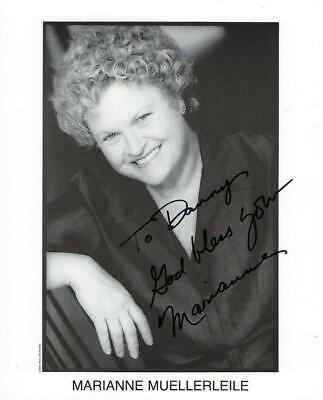 "Marianne Muellerleile 8 x 10"" Autographed Photograph"