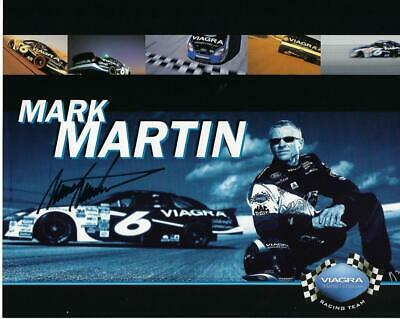 "8 x 10"" Mark Martin Autographed Photograph"