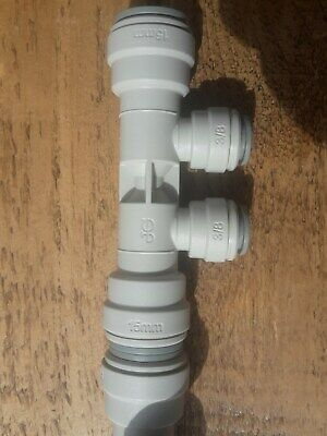 15mm to 3/8 Font Cooling Manifolds Beer Python valves John Guest.(12 available)