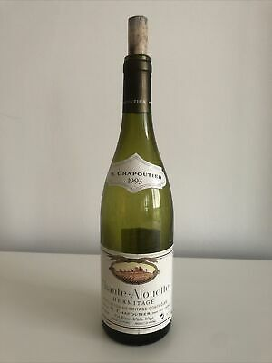 Collectable Empty Fine Wine Bottle With Cork - Chante-Alouette Hermitage 1993