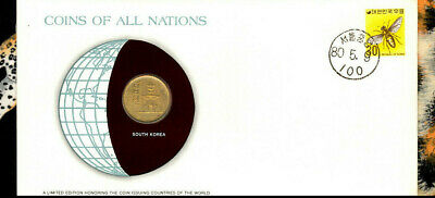 Coins of All Nations South Korea 10 Won 1979 UNC KM# 6a