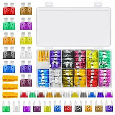 Standard Mini Micro Blade Fuses, 330Pcs Car fuses Assortment Set for Auto Fuses